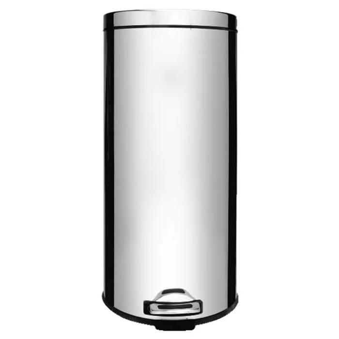 Wilko Stainless Steel Kitchen Pedal Bin 30L Free C&C