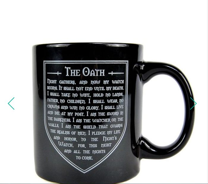 Game of Thrones - Nights Watch Mug Only £2.40