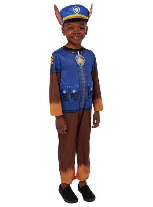 PAW Patrol Chase Fancy Dress Costume - 1-2 Years Only £5.00