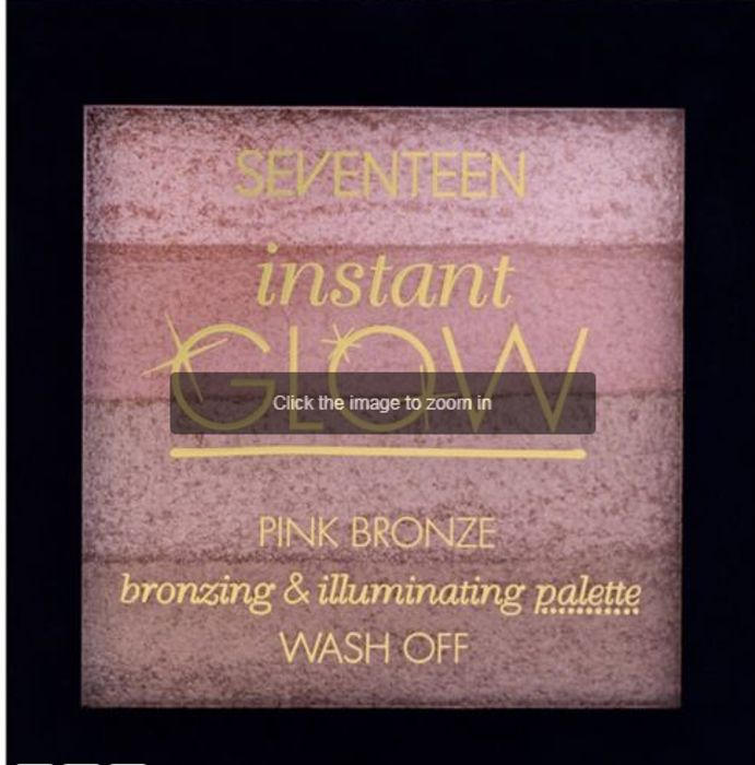 SEVENTEEN Bronzing and Illuminating Palette Only £1.00