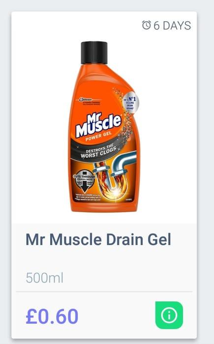 Mr. Muscle Drain Jel