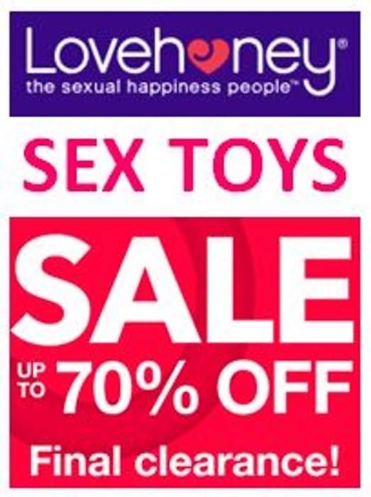 Love Honey Valentine's Sale - Popular SEX TOYS with Massive Discounts