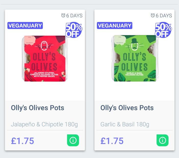 Olly's Olive Pots 180g