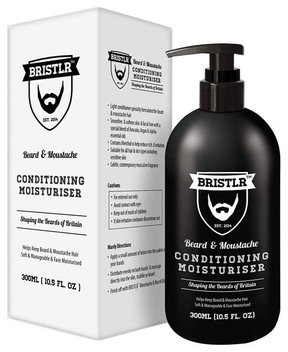 BRISTLR Beard and Moustache Luxury Conditioner 300ml