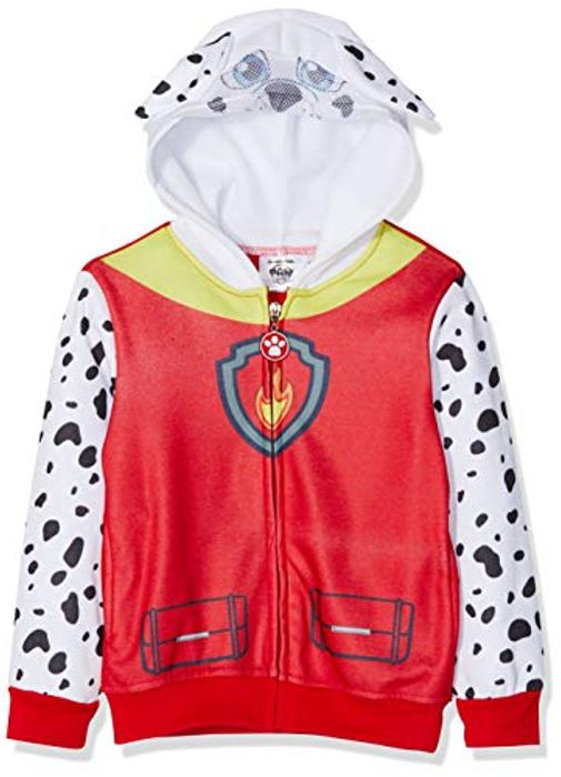 Nickelodeon Boy's PAW Patrol Sweatshirt, (Red 19-1763TC), 6 Years