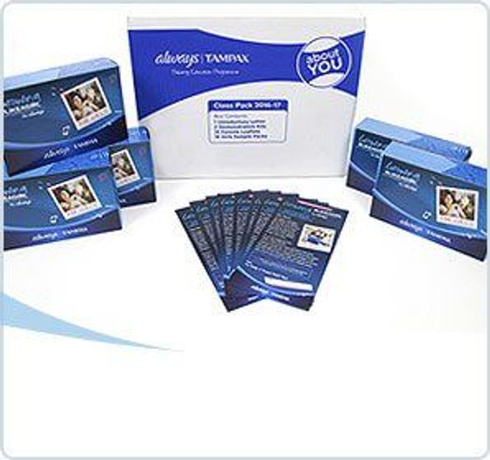 Always & Tampax- Free Puberty Kits for Schools