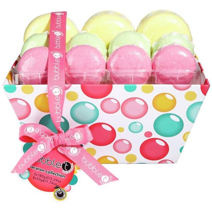 Bubble T Bath Macarons Delight Gift Set