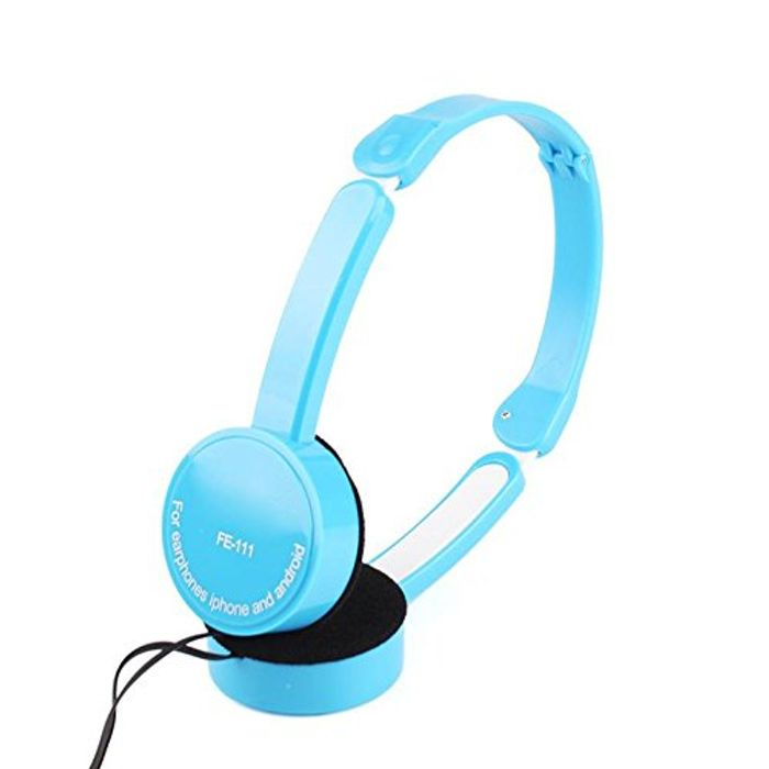 Foldable Overhead Earphones Available in Different Colours