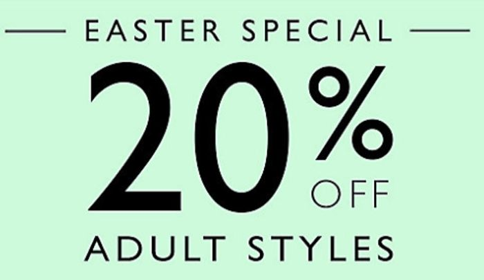 Clarks Outlet Deal up to 70% off Footwear + an Extra 20% off with Code HELLO2019