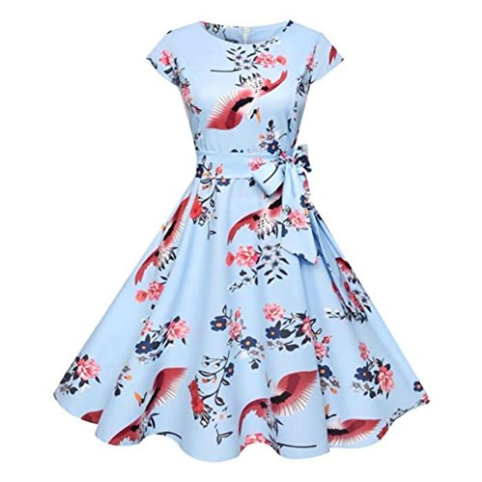 9c6ae70c2645 50s 60s Vintage Dress,Audrey Hepburn Style Evening Party Rockabilly Dresses