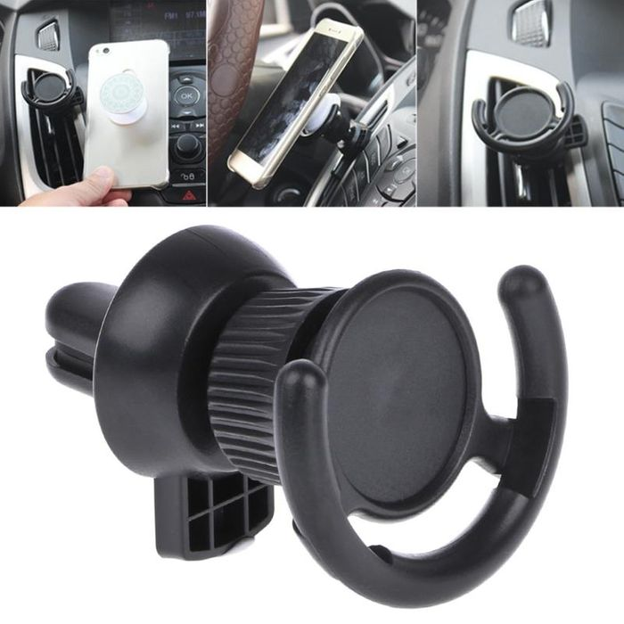 Pop Socket Car Air Vent Holder