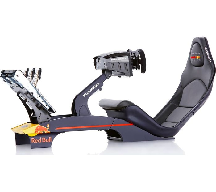 PLAYSEAT F1 Aston Martin Red Bull Racing Gaming Chair - Blue & Red