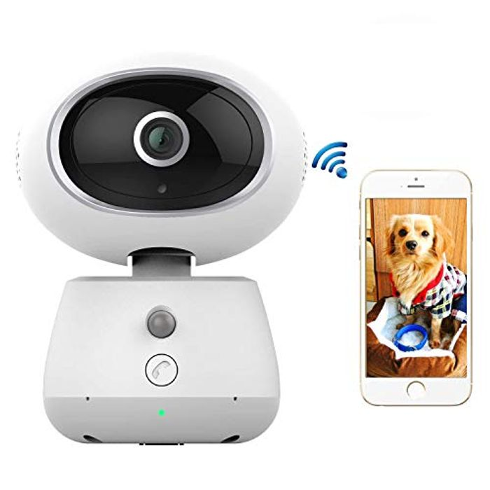 50% off Indoor Security Camera for Baby/Elder/Pet