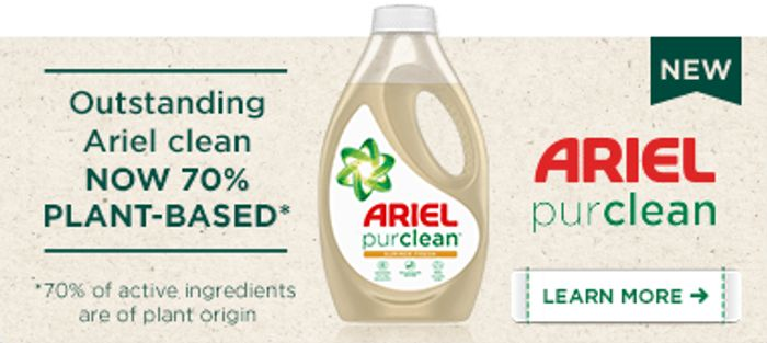 Win 1 Year's Supply of Ariel 3 in 1 Pods