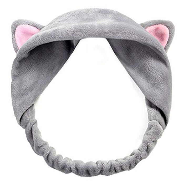 Cute Cat Ears Head Band for Keeping Hair out of Face Whilst Putting on Makeup