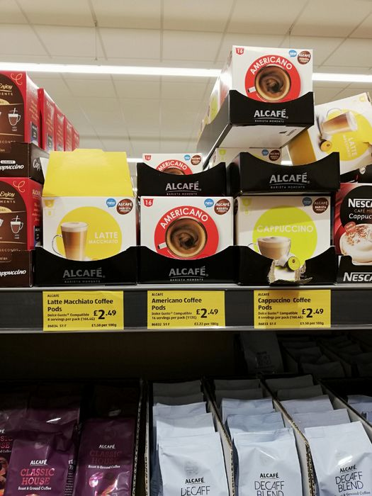Aldi Coffee Pods Compatible with Dolce Gusto