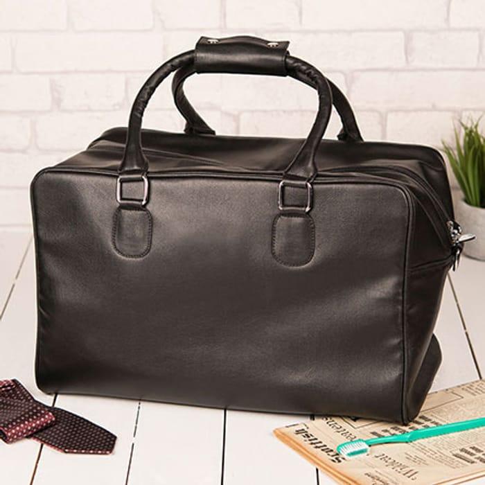 Leather Weekender Bag + 10% off Use Code