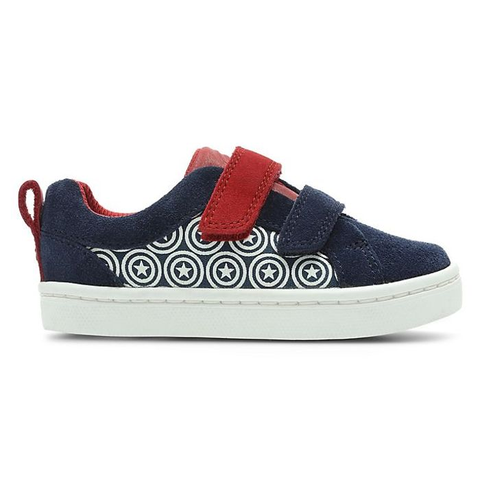 Clarks Captain America City Hero First Trainers for Kids