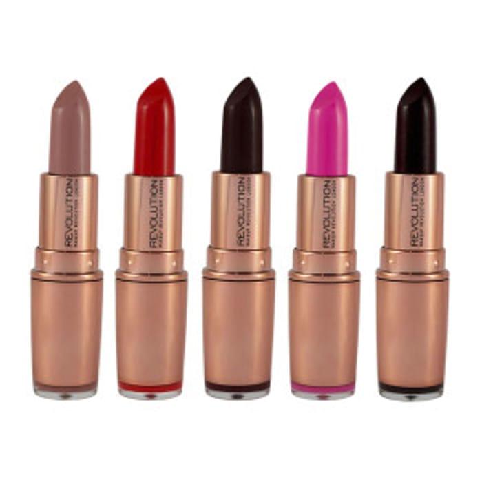 Revolution Rose Gold Lipstick 3.2g