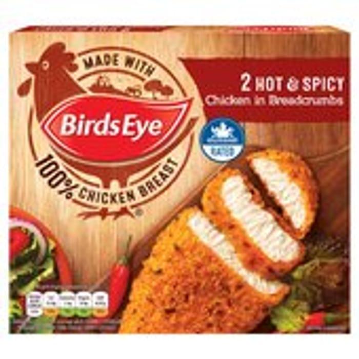 Birds Eye 2 Hot & Spicy Chicken 180g