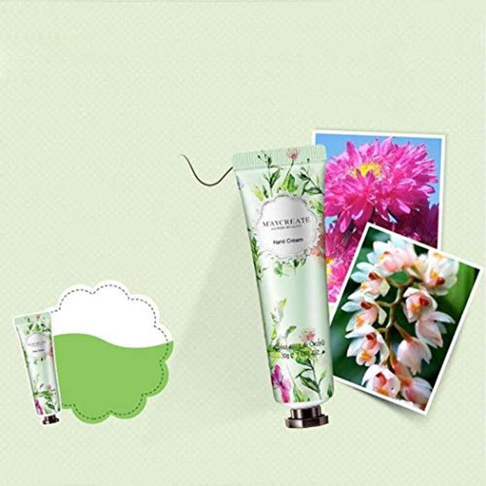 Flowers Fragrance Hand Cream Herbal Essence Moisturizing Hand Cream