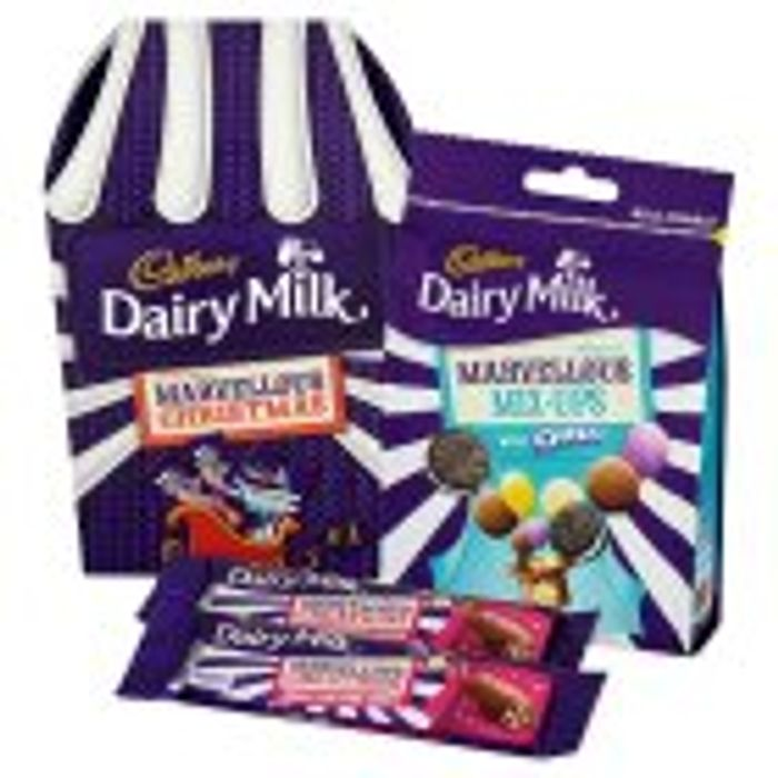 CRAZY REDUCTION Cadbury Dairy Milk Marvellous Creations Christmas Gift Pack 205g