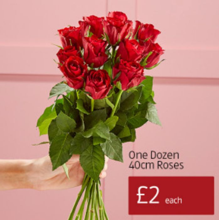 Valentine's Roses from £2 at Aldi
