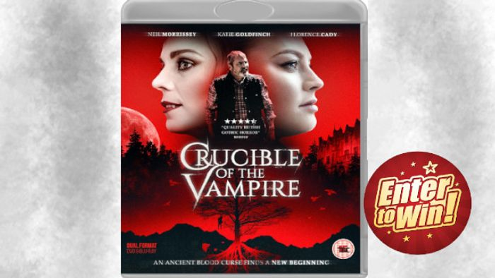 Win Crucible of the Vampire Dual Format (DVD & Blu-Ray) with Justcompetitions
