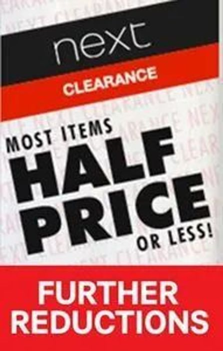 NEXT Clearance Sale - up to 75% Off