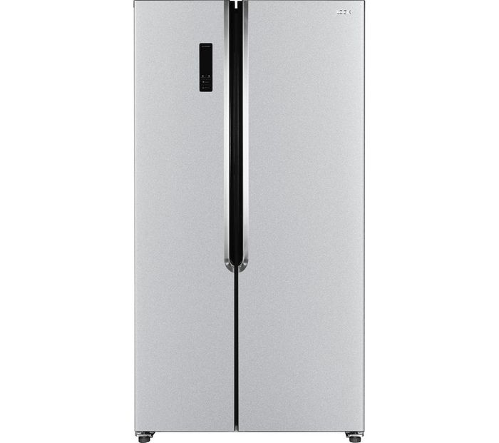 LOGIK American-Style Fridge Freezer - Silver £359.99 with Code