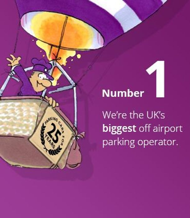 Up to 25% off Airport Parking with This Purple Parking Voucher Code