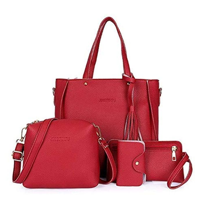 Womens Shoulder Bag Set, 4 Pcs.
