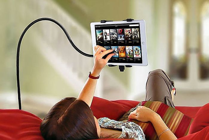 360 Rotation Lazy Bed Tablet Mount