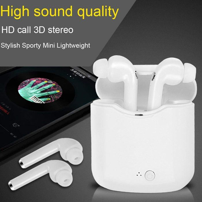 70% off Wireless Bluetooth Earphones Stereo Music Mini Phone Headset