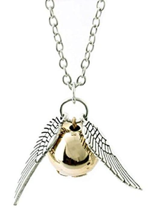 Harry Potter Snitch Necklace