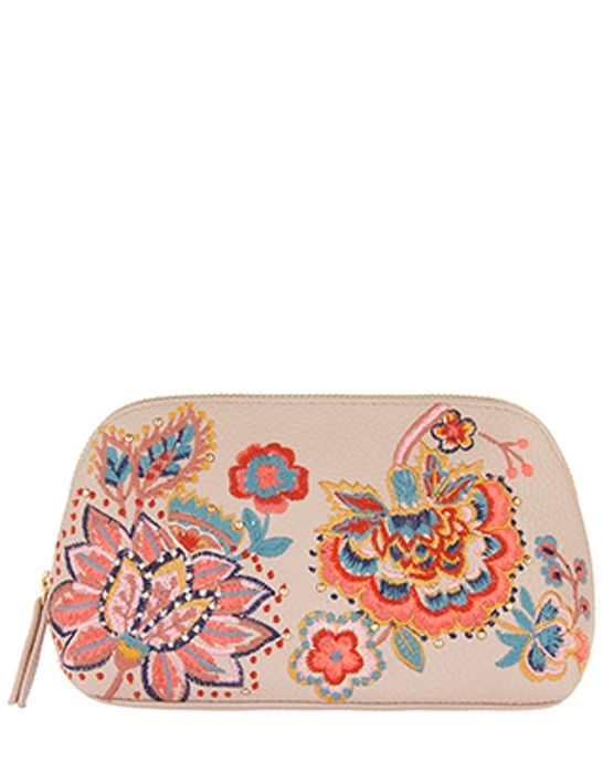 Nomad Embroidered Makeup Bag