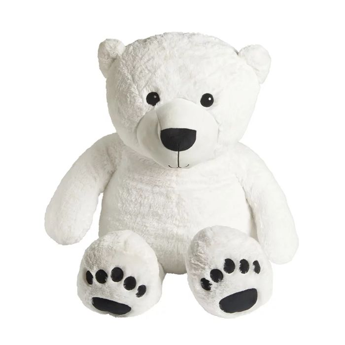 Giant Plush Polar Bear 115cm - Reduced to Clear (In-Store Only)