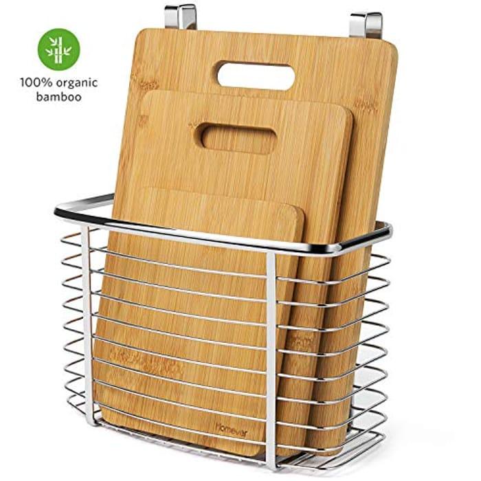 40% off Homever Chopping Board 100% Bamboo