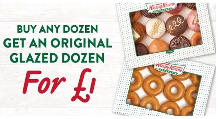 Buy Any Dozen Get a Glazed Dozen for £1