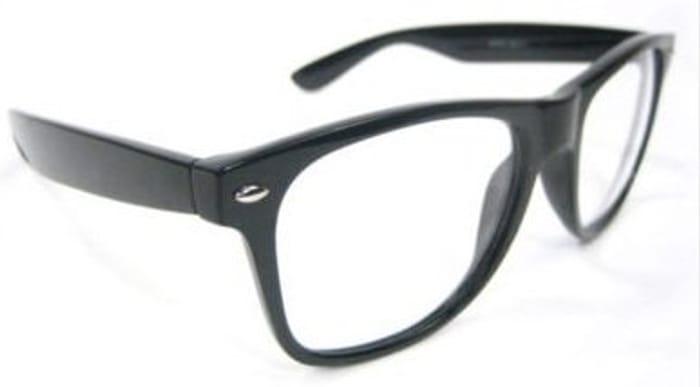 Retro Eye Glass with Black Frame