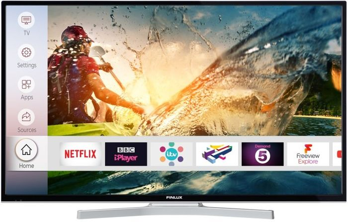 """Finlux 55"""" Ultra HD HDR Smart 4K TV with Freeview Play - 10% Off - Free Delivery"""