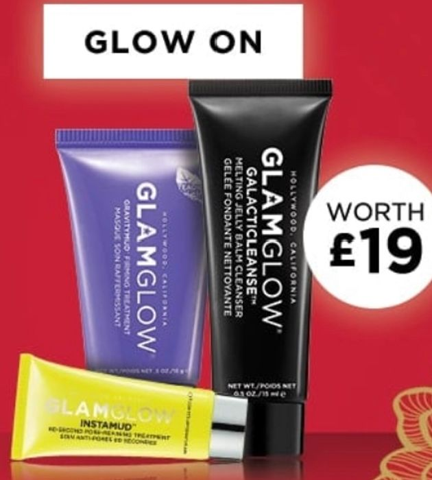 Glamglow Free Gift with £35 Minimum Spend