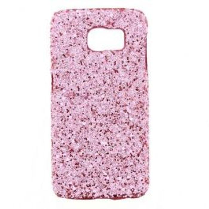 Samsung Galaxy S6 Pink Glitter Case