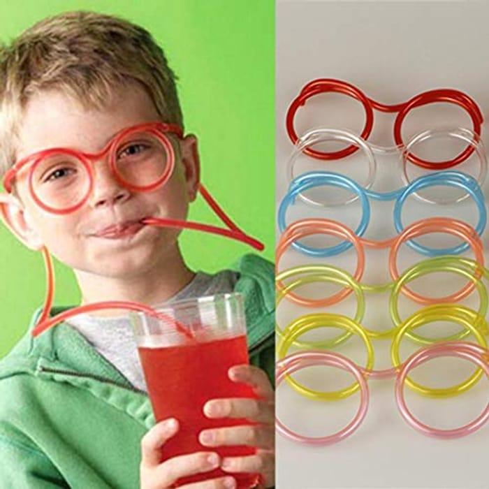 Novelty Glasses Straws