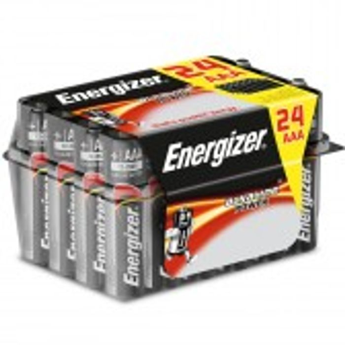 Energizer AAA or AA Alkaline Power Batteries - 24 Pack £5.09