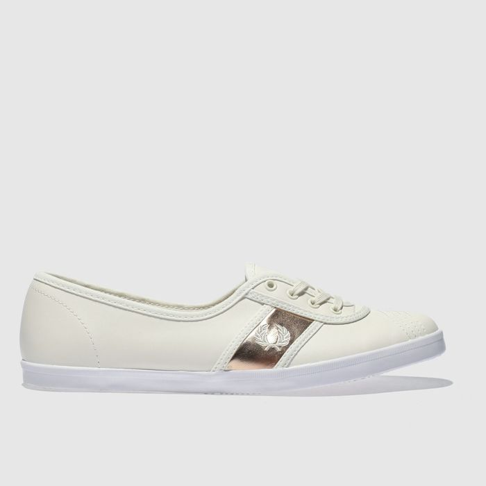 Fred PerryStone Aubrey Leather Trainers