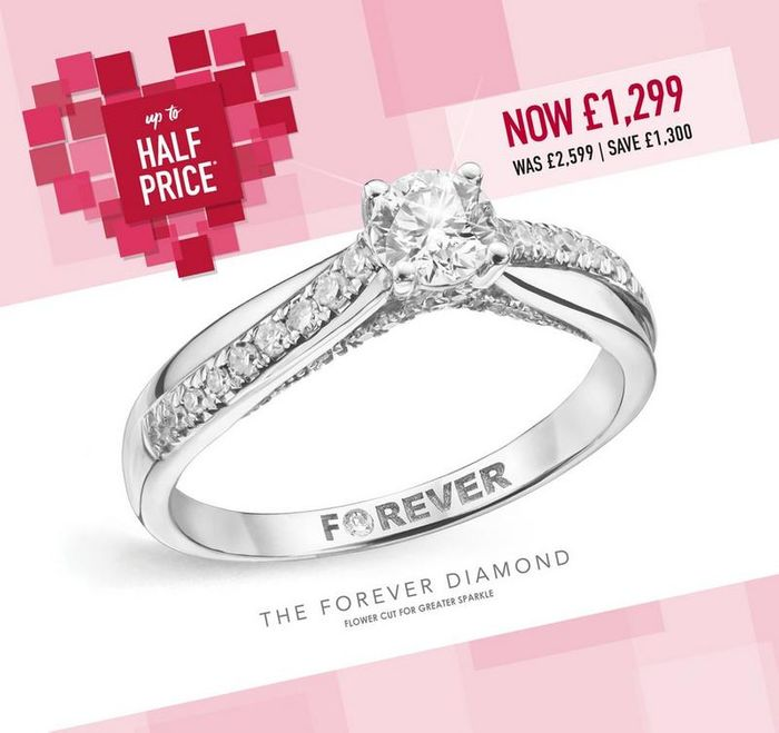 Exclusive £15 off £100 Spend at H.Samuel This Valentines!!!