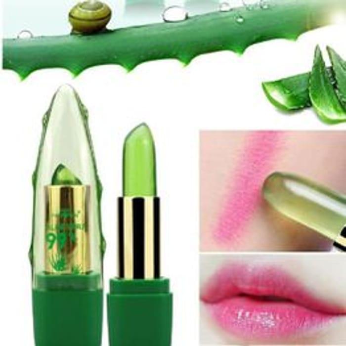 Aloe Vera Color Changing Long-Lasting Moisturizing Lip Stick
