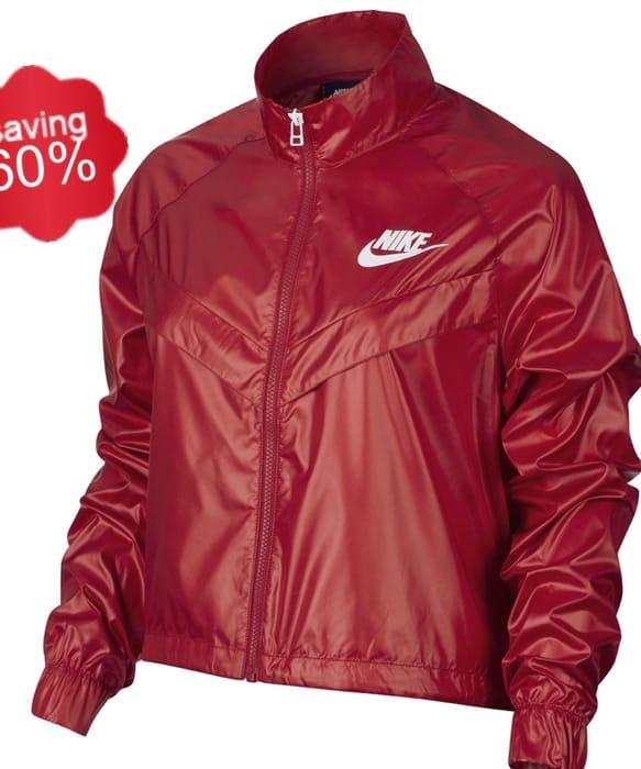 Nike Womens Sportswear Jacket - University Red