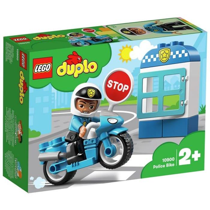 Lego Duplo Police Toy Bike Half Price 10 At Argos Latestdeals